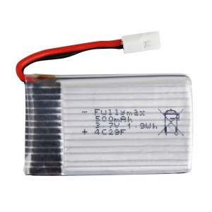 Z-9 3 7v 500 mAh Li-polly battery