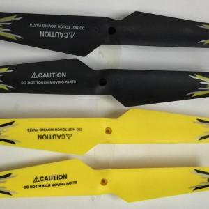 Z-36CV Main blades (Black and Yellow)